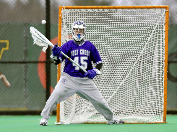 NCAA LACROSSE: APR 10 Holy Cross v Vermont
