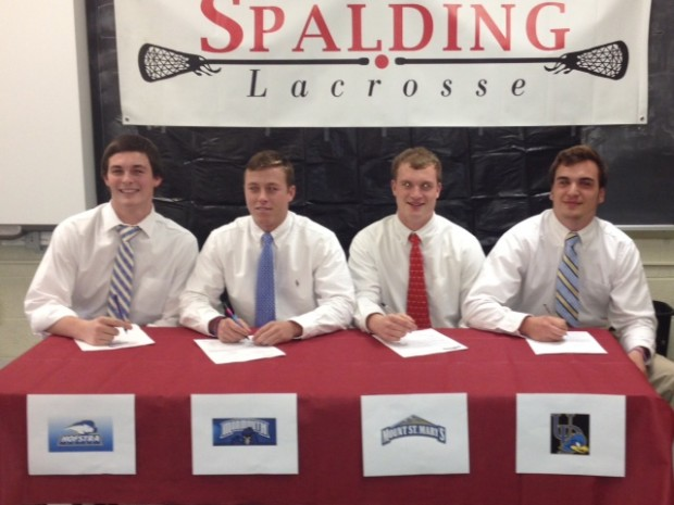 Archbishop Spalding Lacrosse Siging Day