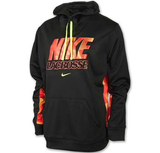 The Nike KO Lacrosse Hoodie is the perfect tool to be comfortable and stylish in the cold weather. Ultra-warm with a vibrant look, the Nike KO Hazard Men's
