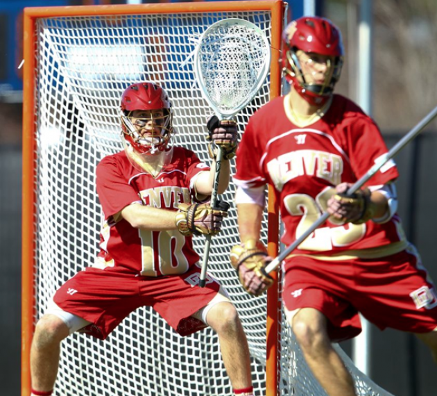 Game Photos: Denver Beats Duke, 14-12, jack tarr