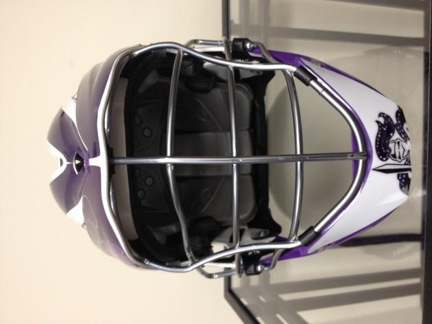 Holy Cross Debuts St. Paddy's Helmet Decals In First Ever Win Versus Navy Lacrosse, 7-5