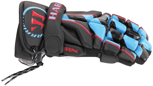 Kyle Hartzell's Custom Warrior Lacrosse Gloves