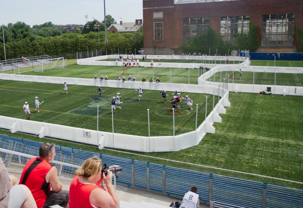 Game Photos: Outdoor Box Lacrosse at Yale