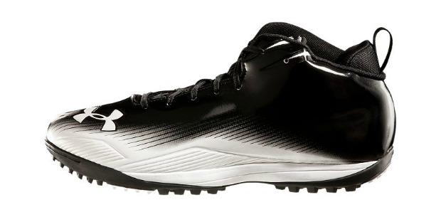73b0e2b45f16 Under Armour Nitro III Mid-Cut Turf Shoes - Black/White - Lacrosse ...