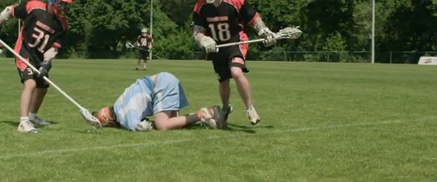 Short Lacrosse Flick from the Netherlands